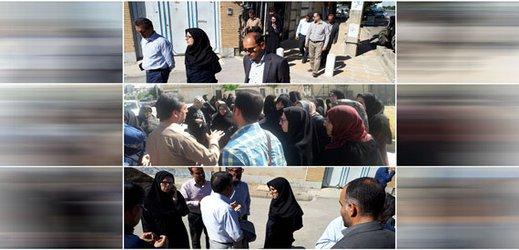 بازدید ریاست و اعضای کمیسیون نظارت و پیگیری از کوی حمید و بازارچه الغدیر