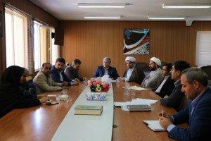 حضور ابراهیمی فر شهردار تفرش در جلسه بررسی مشکلات پروژه های میراث فرهنگی در شهرستان تفرش