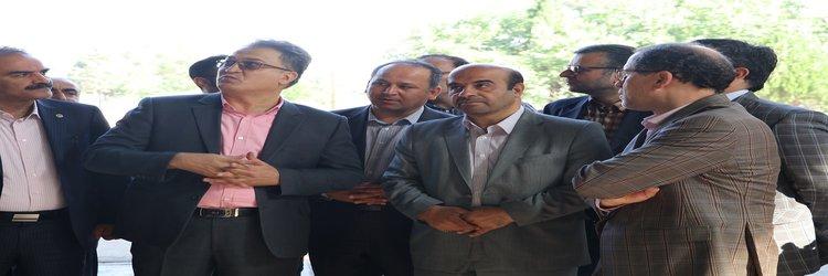 بازدید از کارخانه ماشین سازی کیهان خرم آباد با حضور مدیر عامل شرکت برق حرارتی