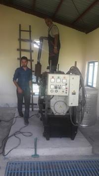 راه اندازی یک دستگاه دیزل ژنراتور به منظور تامین برق اضطراری مجتمع آبرسانی نقره ده آستانه اشرفیه