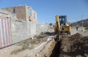 تکمیل عملیات تعویض شبکه فرسوده روستای زنگینه بردسکن