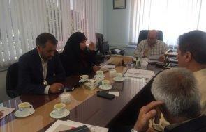 بازدید نماینده مردم نیشابور و فیروزه در مجلس از امور آبفار نیشابور