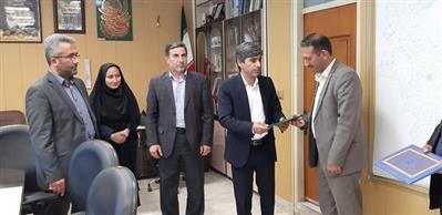 انتصاب سرپرست جدید امور آبفار شهرستان بیله سوار
