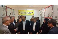 بازدیداعضای کمیسیون انرژی مجلس شورای اسلامی  از پست ۱۳۲.۲۰ کیلوولت سجاد و تونل انرژی