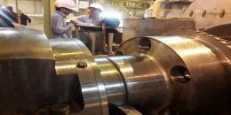 انجام اورهال واحد ۵ بخار نیروگاه سیکل ترکیبی شهدای پاکدشت (دماوند) توسط کارکنان...