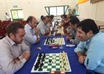 برگزاری مسابقه ی شطرنج در نیروگاه سیکل ترکیبی کازرون