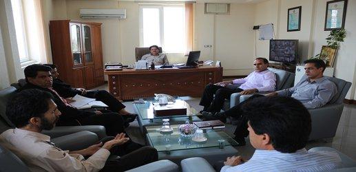 برگزاری جلسه مدیریت مصرف آب