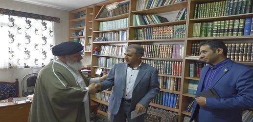 دید و بازدید مدیر عامل نیروگاه برق ری با امام جمعه باقرشهر۱۷/۰۲/۱۳۹۸