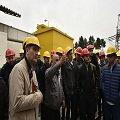 بازدید دانشجویان دانشگاه علم و صنعت از شرکت مدیریت تولید برق ری