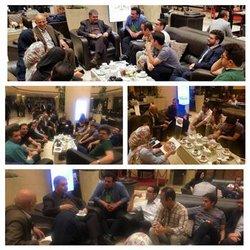 نشست صمیمی رئیس شورای مرکزی با مدیران روابط عمومی استانها برگزار شد