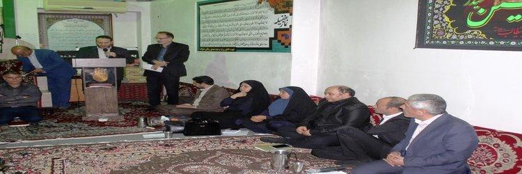 دیدار مردمی مسئولان جهت بررسی و حل مشکلات روستای عبداله آباد شهرستان سرخه