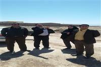 بازدید مسئولان اداره حفاظت محیط زیست شهرستان کرمان از محل پیشنهادی سازمان پسماند شهرداری کرمان برای استقرار کارگاههای بازیافت