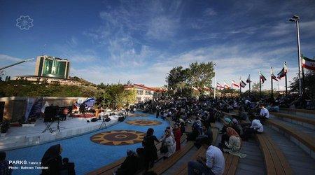 جشن بزرگ امام رضا ( ع ) در آمفی تئاتر روباز ائل گلی