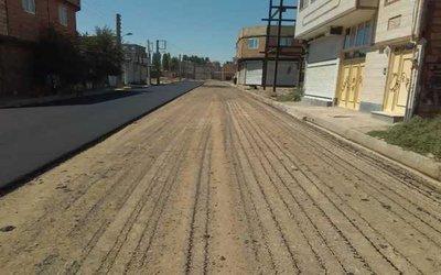 گزارش تصویری / پروژه های مختلف عمرانی در دست اجرا از سوی شهرداری در سطح شهر