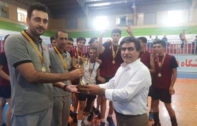 برگزاری روزپایانی و فینال مسابقات والیبال قهرمانی نوجوانان کشور در دامغان