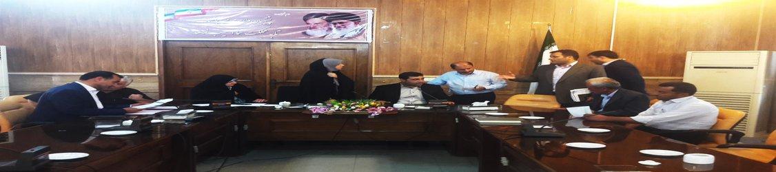 بازدید مدیرکل بازرسی استانداری از فرمانداری شهرستان تاکستان