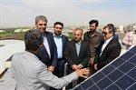 نصب سامانه فتو ولتائیک در ساختمان اداری(ستاد) شرکت آب و فاضلاب روستایی استان زنجان