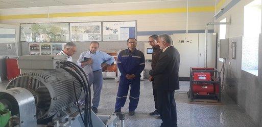 بازدید همکاران شرکت آب و فاضلاب استان خراسان رضوی از پروژه های تحقیقاتی آبفای استان