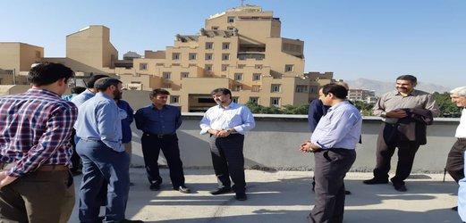 بازدید مدیرعامل برق منطقه ای اصفهان از پست GIS طیب و شهدا