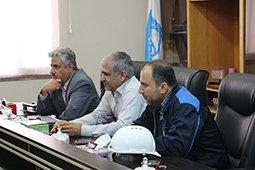 نشست بررسی وضعیت تولید و  بهره برداری در سد و نیروگاه دز