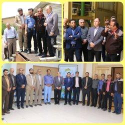 رییس و اعضای شورای اسلامی شهر همدان با حضور در نیروگاه شهید مفتح از تاسیسات این نیروگاه بازدید کردند .