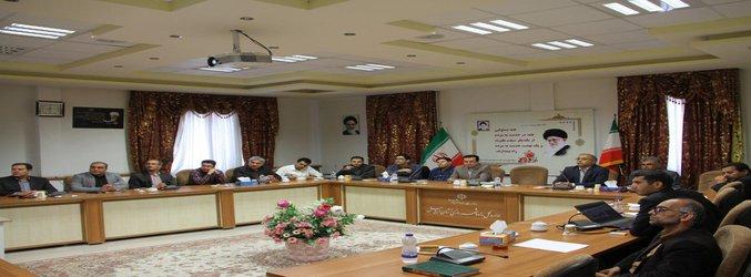 جلسه کار گروه مخاطرات زلزله در استان اردبیل برگزار گردید