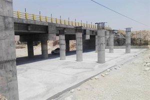 تعمیر اساسی و نگهداری پل بزرگ بست فاریاب در محور لار- بندرعباس