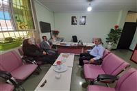 دیدار مدیر کل حفاظت محیط زیست استان کرمان با مدیر کل جدید بنیاد شهید و امور ایثارگران استان