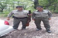دستگیری شکارچیان غیرمجاز درآمل و ساری
