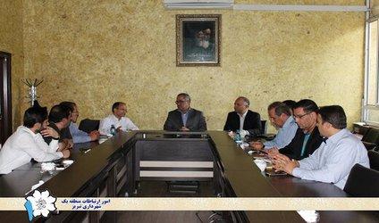 جلسه بررسی فاز عملیاتی پروژه مهم بازگشایی رمپ آخر خیابان شهید رجائی برگزار شد