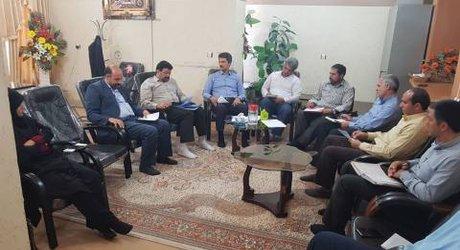 مهندس انصاری فرماندار جدید، میهمان اعضای شورای شهر چناران شد.