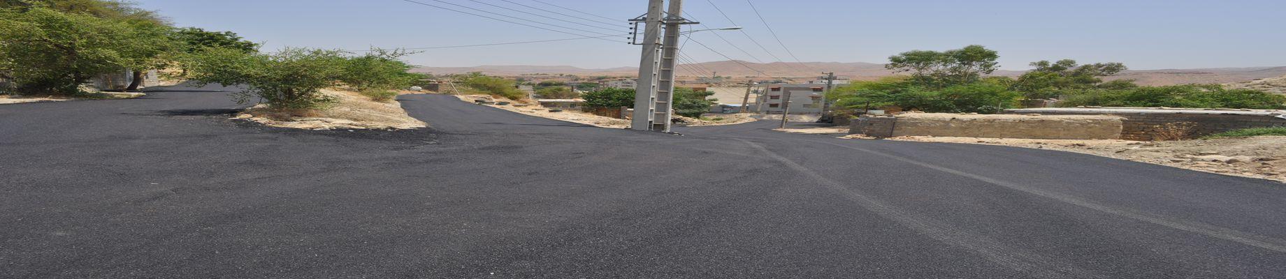 عملیات روکش آسفالت منطقه ریل وی با مساحت تقریبی ۷ هزار متر مربع اجرایی شد