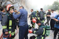 آتشسوزی هتل آسمان شیراز مهار شد