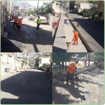 اجرای طرح پاکسازی محله به محله شهر پاوه (تمام مسیرهای اصلی و فرعی محلات) به صورت مداوم برای نخستین بار