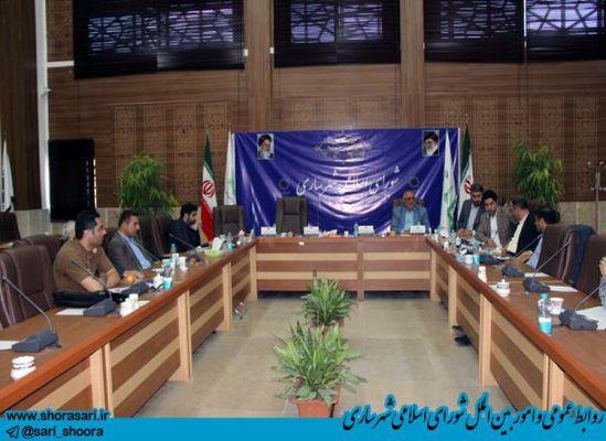 مصطفی بابایی بعنوان رئیس مرکز پژوهش های شورای اسلامی شهر ساری انتخاب شد + تصاویر