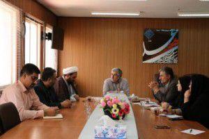 حضور سعدی معاونت شهرداری در جلسه برنامه ریزی بزرگداشت امامزاده محمد(ع)