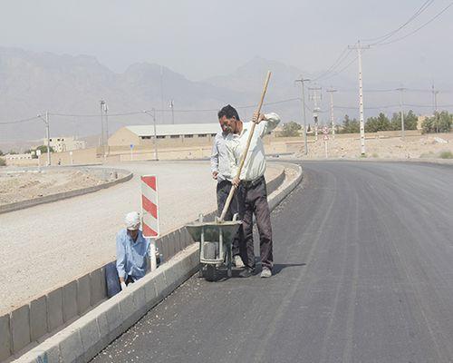 گزارش تصویری نصب تابلوهای ترافیکی بلوار خاتم الانبیاء