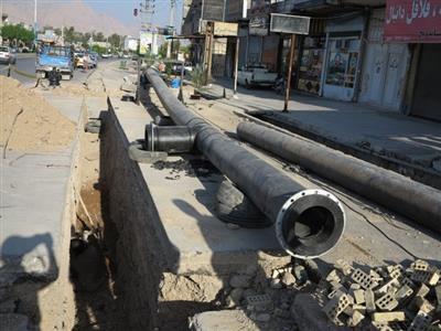 توسعه 1600 متر شبكه آب و فاضلاب در شهر دوگنبدان/جمع آوری  240  انشعاب غیرمجاز