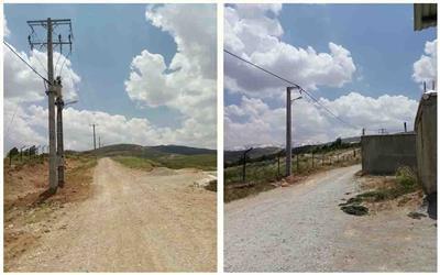 روستاي اسد آباد شهرستان كوهرنگ برق دار شد