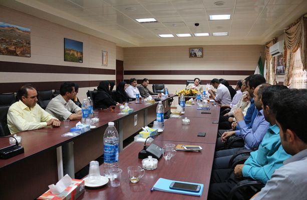 برگزاری جلسه کمیته بحران با موضوع درس آموخته های سیلاب