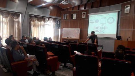 دوره تخصصی کنترل کیفی بیرینگ ها در نیروگاه مشهد برگزار شد