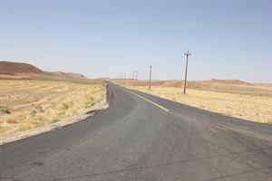 پایان عملیات بهسازی و آسفالت راه روستایی قره محمد  در شهرستان خدابنده