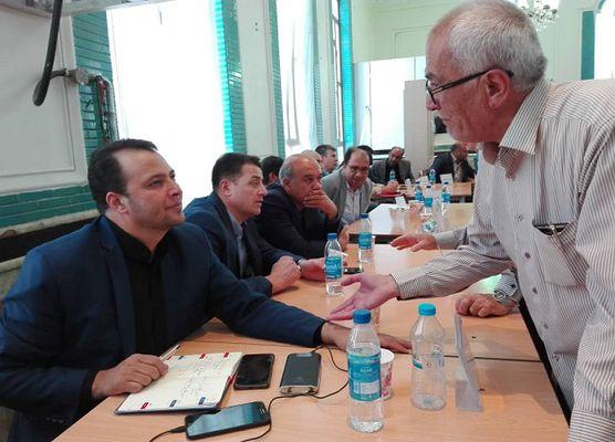 ملاقات مردمی شهردار با شهروندان در مسجد جامع حاج کاظم