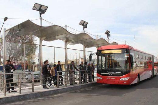خدماترسانی مطلوبتر در حوزه حمل و نقل عمومی با رفع مشکلات مسیرهای BRT