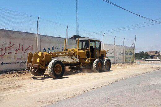 سومین جاده دسترسی به ورزشگاه یادگار امام آماده میشود