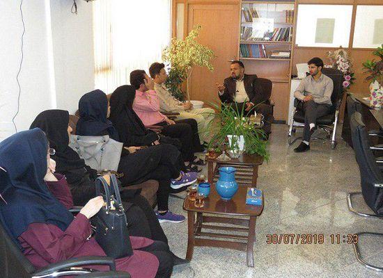 حضور  دکتر موسوی رییس مرکز بهداشت و درمان شهر مجلسی  به اتفاق همکاران در دفتر مهندس اسلانی شهردار  و گفتگو در جهت ارتقاء سطح  روابط همه جانبه بین مرکز بهداشت و درمان و شهرداری مجلسی