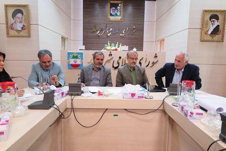 بررسی وضعیت فضاهای آموزشی شهر در جلسه شورا