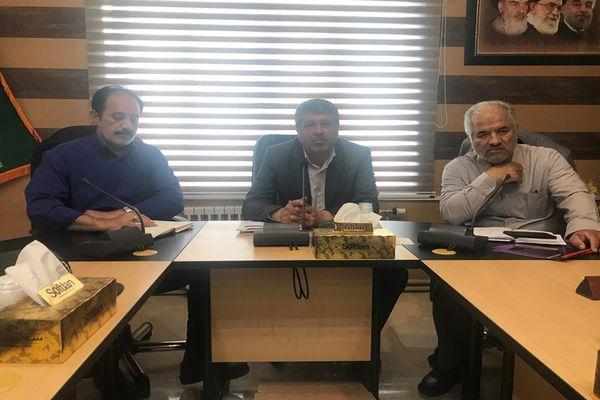 جلسه ستاد جشنواره پسته با حضور آقای حسن بیکی نماینده دامغان در مجلس شورای اسلامی