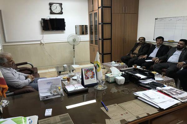 دیدار مدیریت امور شعب بانک کشاورزی استان با رئیس شورای شهر دامغان