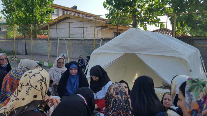 حضور فاطمه شیرزاد عضو شورای اسلامی شهر رشت در  طرح ورزش بانوان که با هدف جلوگیری از کم تحرکی و ایجاد نشاط در بین بانوان برگزار شد